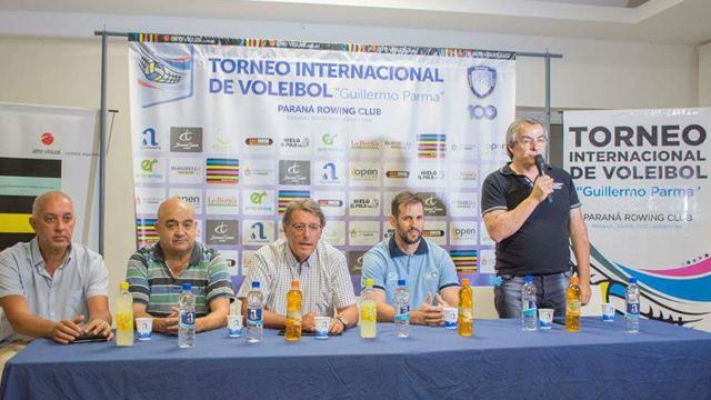 """Paraná recibe al Torneo Internacional de Vóley Sub17 """"Guillermo Parma""""."""