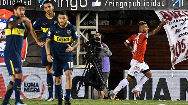 Argentinos le ganó con claridad a Boca y le sacó el invicto.