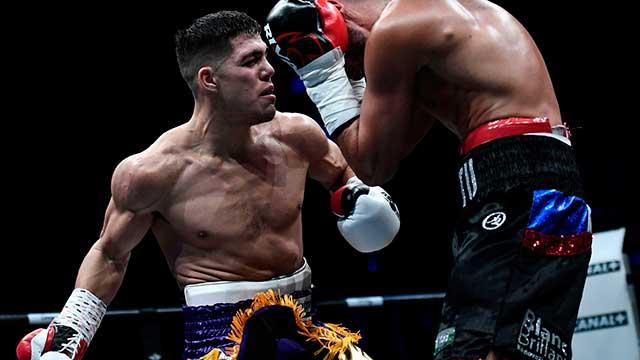 Boxeo Brian Castaño Retuvo El Título Mundial Superwelter