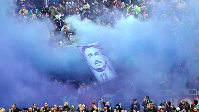 El emotivo homenaje de Fiorentina para Davide Astori.