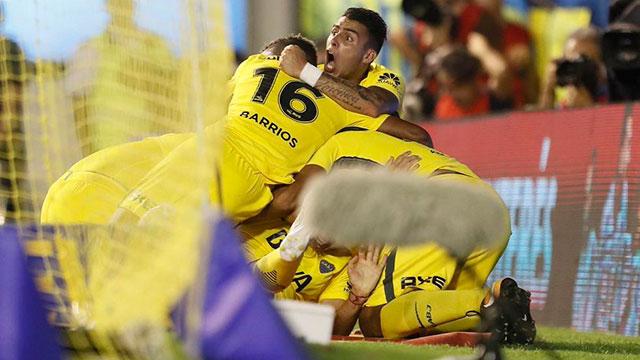 Boca sigue como cómodo líder de la Superliga.