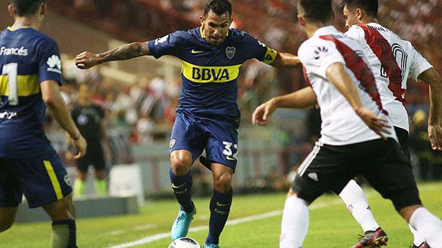 Boca y River definen al campeón de la Supercopa Argentina.