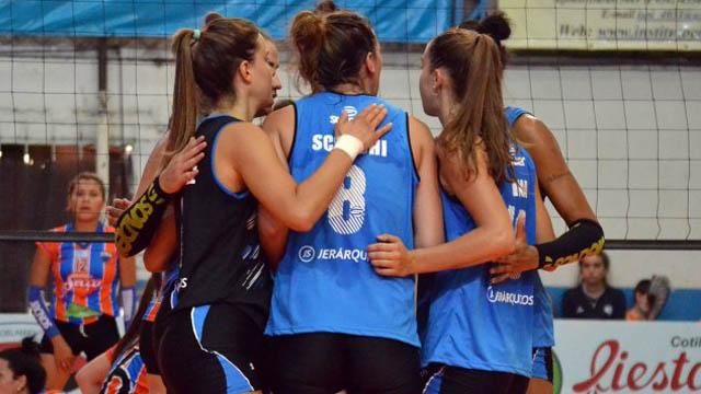 Villa Dora se metió en la Semifinal de la liga Argentina Femenina de Vóley.