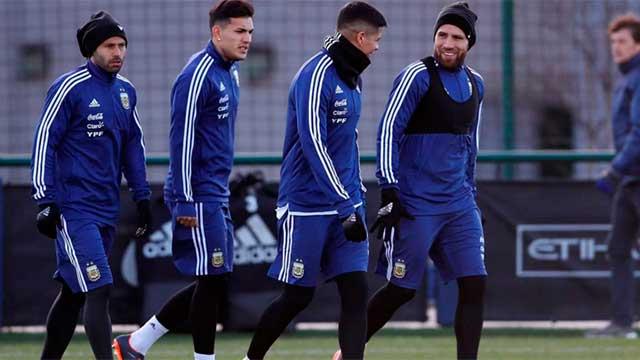 Selección Argentina: Los días y horarios de los amistosos ante Italia y España