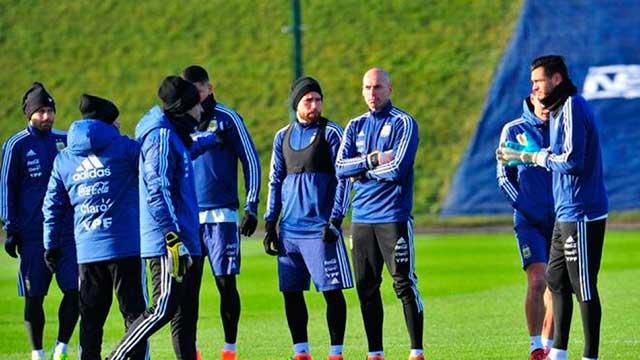 Con el entrerriano Wilfredo Caballero al arco y Messi en duda, Argentina se prueba ante Italia