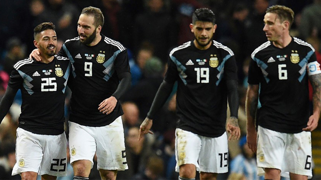 Argentina superó a Italia en el amistoso disputado en Inglaterra