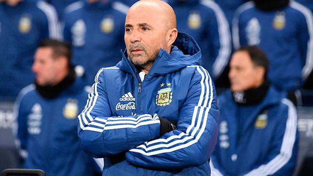 """Sampaoli, tras el amistoso ante Italia: """"Dimos un paso hacia adelante"""""""