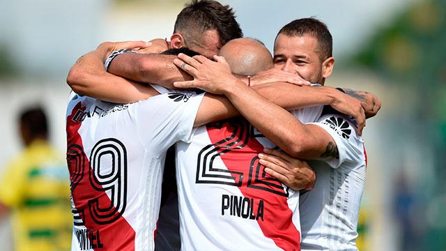 River enfrenta a Rosario Central y quiere seguir escalando en la Superliga.