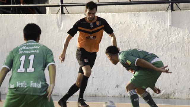 El Naranja sigue como líder del Apertura de Elite Masculino de la APFS.