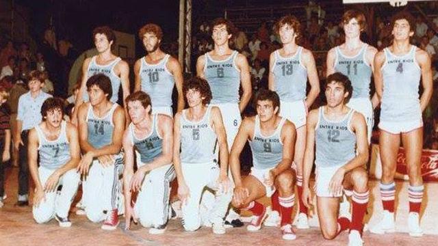 Selección de Entre Ríos en 1982.