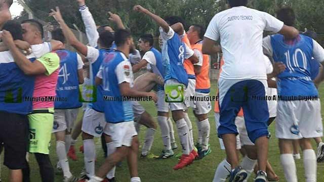 Sportivo Urquiza en la final del Federal C. (Foto: Minuto a Minuto)
