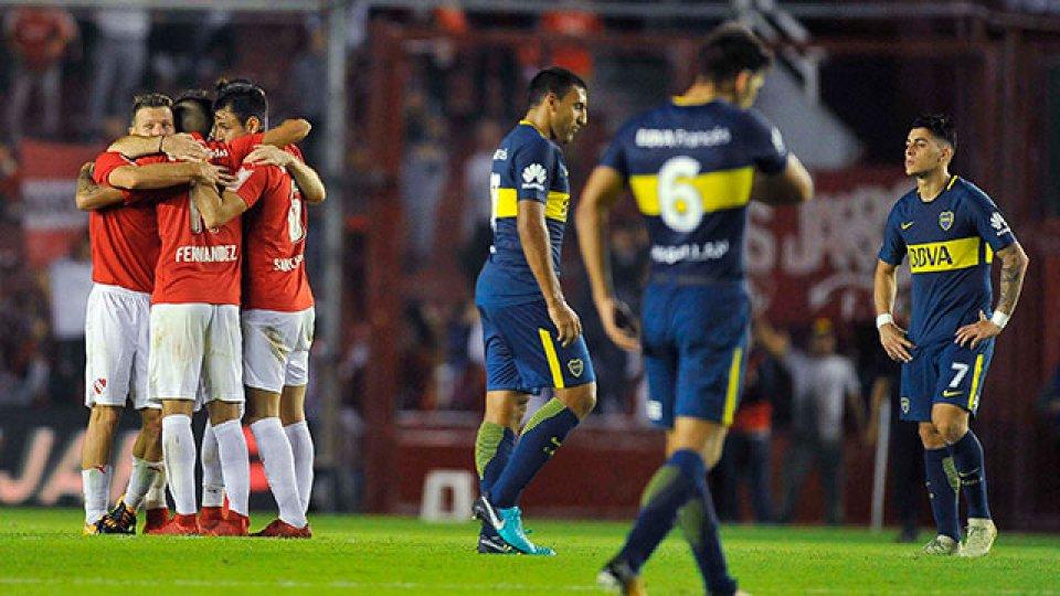 Independiente festejó en Avellaneda.