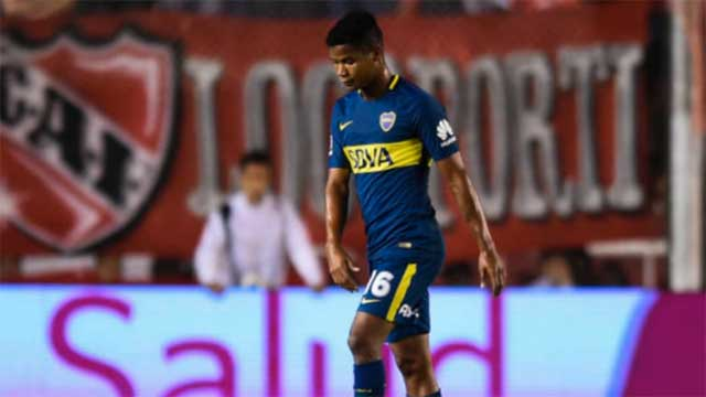 Wilmar Barrios está desgarrado y se perderá varios partidos.