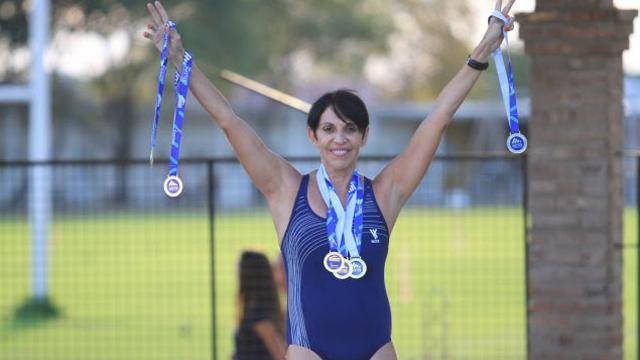 La entrerriana Susana Barbosa sumó seis medallas en Colombia