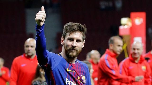 Lionel Messi llegó a los 33 tiíluos en su carrera