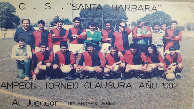 C.S. Santa Bárbara-Campeón Torneo Clausura 1992-Liga Dep. Tala.