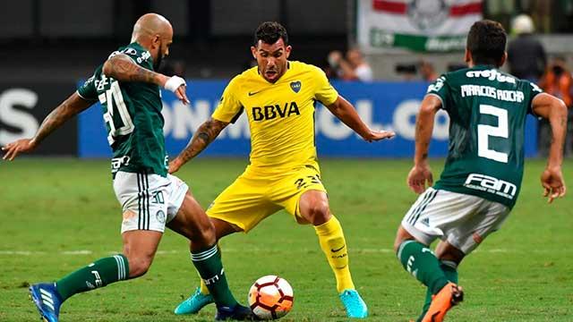 Boca enfrenta a Palmeiras en la Bombonera y puede dar un gran paso hacia los octavos de final