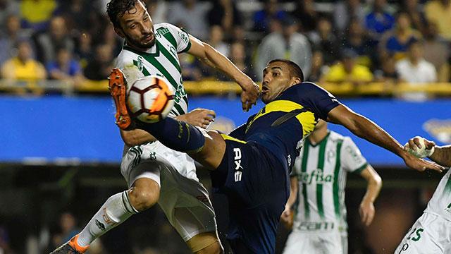 Boca pierde con Palmeiras por 1 a 0 en la Bombonera