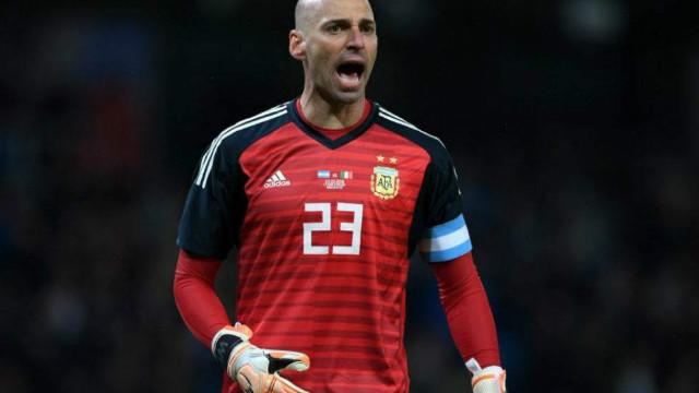Willy Caballero usará el número 23 en el Mundial.