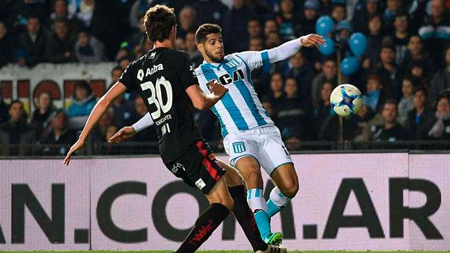 Racing y Colón, en un choque clave para la clasificación a las copas.