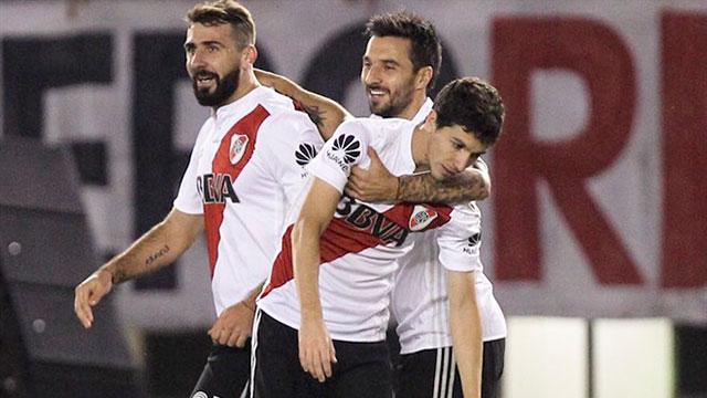 River derrotó a San Lorenzo en el último partido de la Superliga.