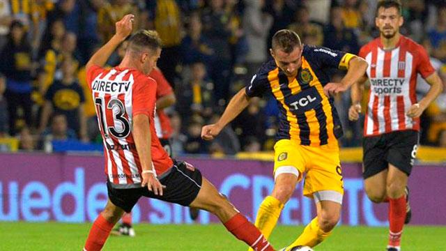 Central y Estudiantes empataron en Rosario.