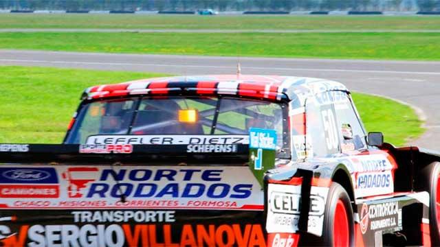 Damián Markel va por su primer éxito en el TC Mouras.