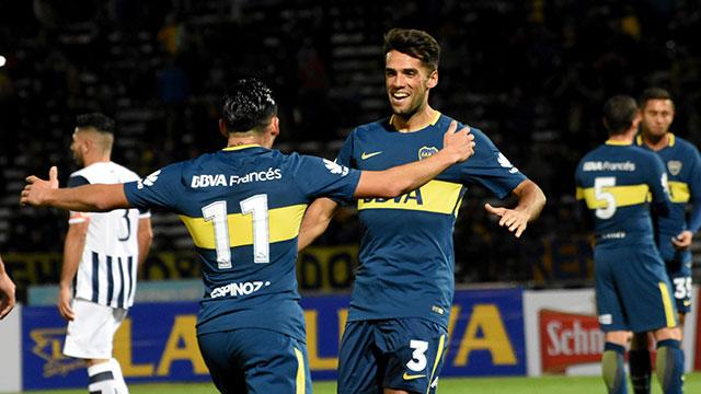 Boca le ganó a Talleres en Córdoba.