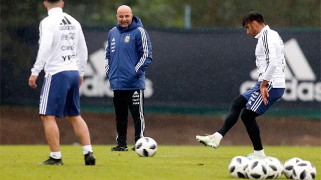 Selección Argentina: Las dudas de Jorge Sampaoli a horas de dar la lista para el mundial