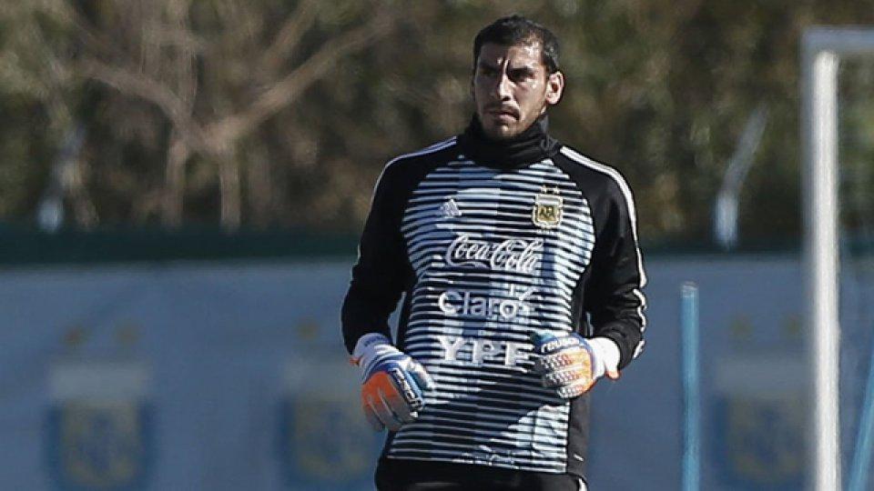 Guzmán se sumó al grupo y se entrenó con el seleccionado argentino
