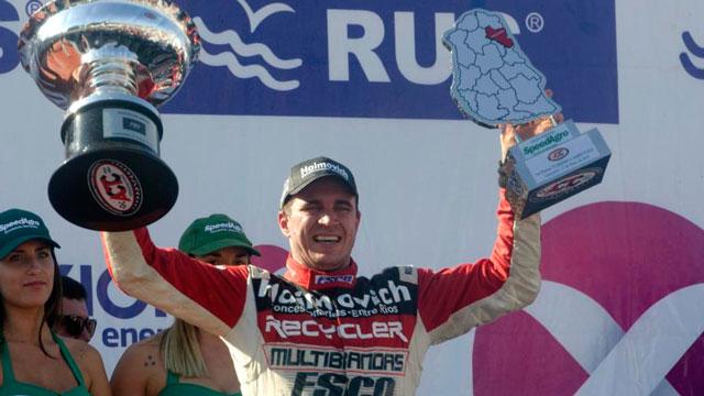 Mariano Werner, entre los pilotos más ganadores del 2018.