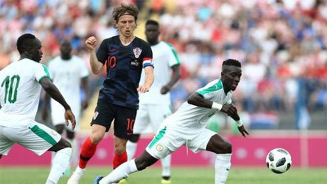 Croacia se lo dio vuelta a Senegal.
