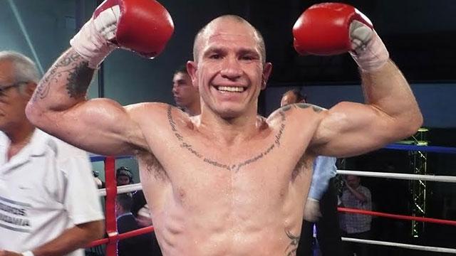 Wenceslao Mansilla, a horas de su pelea más importante.