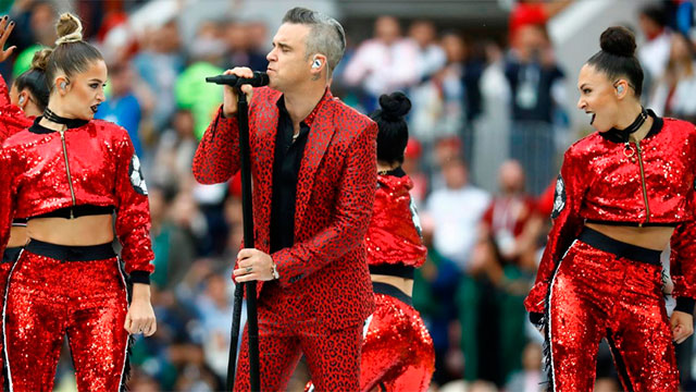 Las mejores imágenes de la ceremonia de apertura del Mundial 2018.