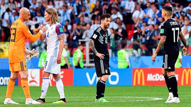 """""""Se lo vio mal a Lionel Messi"""", afirmaron algunos jugadores."""