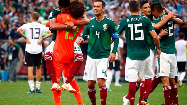 Rusia 2018: En un partidazo, México logró una histórica victoria ante Alemania
