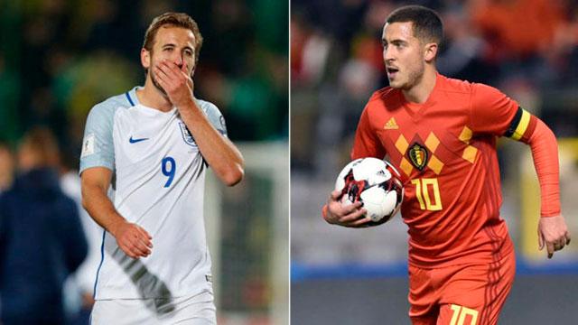 Los partidos del lunes en Rusia 2018: Bélgica e Inglaterra tendrán su debut mundialista