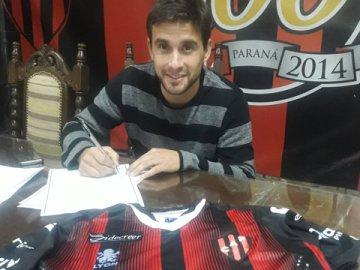 Lucas Ceballos selló su vínculo con Patronato