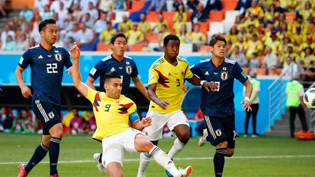 Colombia no pudo con Japón y se complica en su grupo.