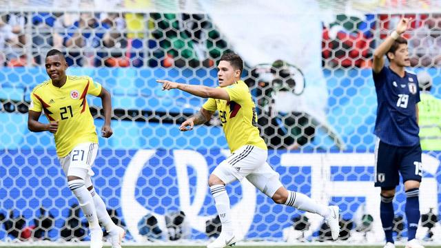 Colombia goleó a Polonia y  obtuvo tres puntos claves