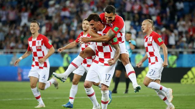 """""""Croacia tiene su juego y confiamos en lo que hacemos"""", explicó Mandzukic."""