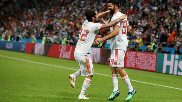 España tuvo la suerte de su lado y festejó ante el complicado Irán