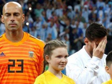 Curioso dato de la caída Argentina: Caballero tocó la pelota más veces que Messi