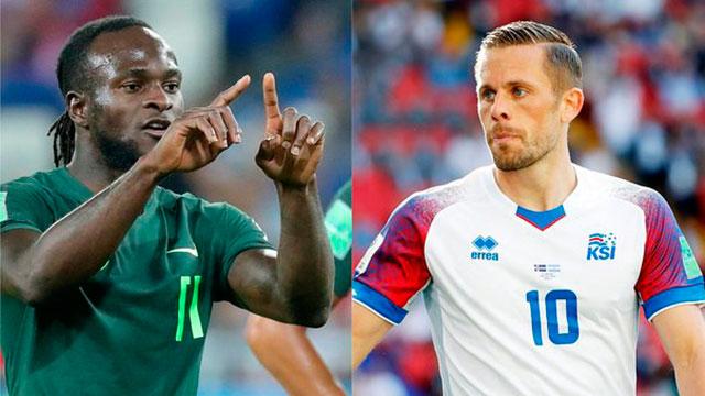 Nigeria e Islandia juegan un partido crucial para las chances de la Selección