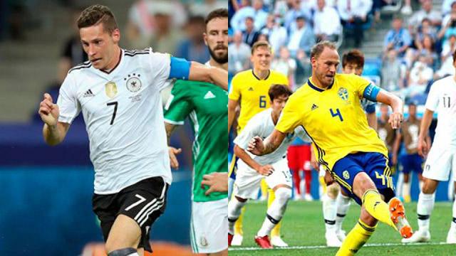Alemania busca recuperarse ante Suecia, que quiere dar el golpe del Mundial
