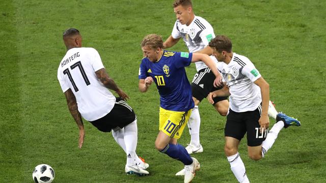 Suecia tenía la victoria, pero le dio vida a la Maquinaria y lo pagó caro.