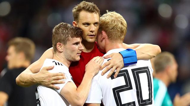 Alemania puso un pie en Octavos con un triunfo muy trabajado.