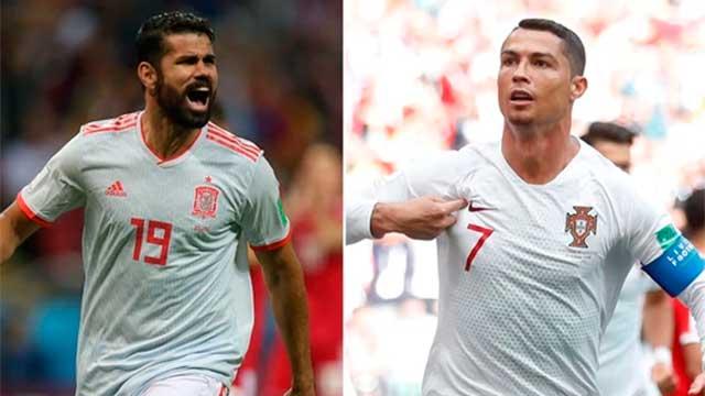 Rusia 2018: Portugal y España van por la clasificación los octavos de final
