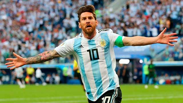 El 10 no juega en Argentina desde la derrota con Francia en el Mundial.