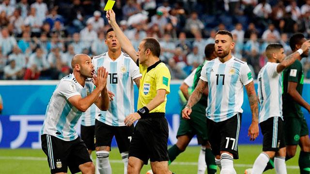 Dos argentinos aparecen en el peor equipo de la Copa del Mundo de Rusia 2018